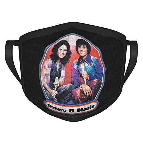 Aregokam mask Bandana Young People Donny and Marie Osmond Logo Novelty Mask