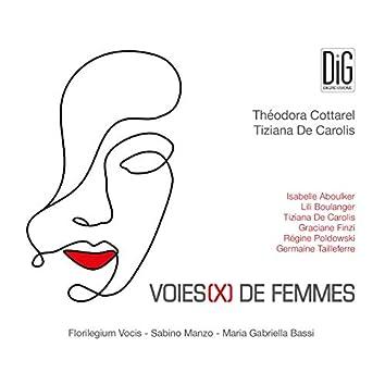 Voies(X) de femmes [feat. Sabino Manzo, Maria Gabriella Bassi]