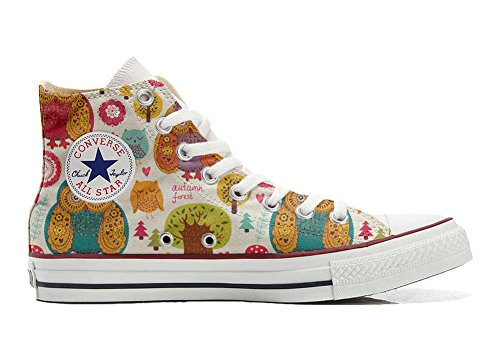 MYS Sneaker Original Hi Customized personalisiert Schuhe (gedruckte Schuhe) Autumn Forest Size 38 EU