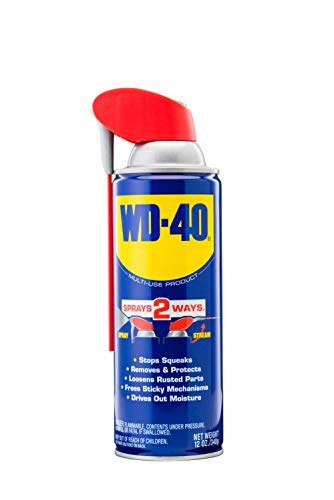 WD-40 Multi-Use Product with SMART STRAW SPRAYS 2 WAYS, 12 OZ