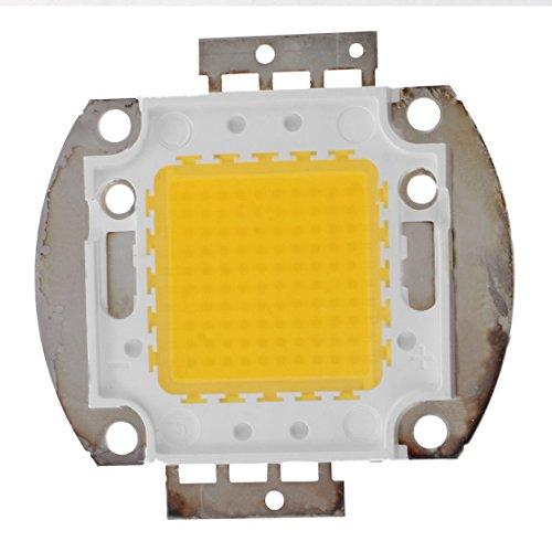 SODIAL(R) 100W Lampara LED Iluminacion Luz Lampara DIY chip de alta potencia Blanco calido