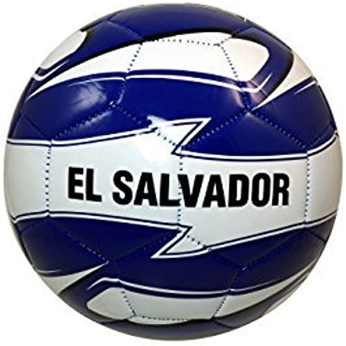 El Salvador Authentic Official Licensed Soccer Ball Taille 5 -001 by RHINOXGROUP