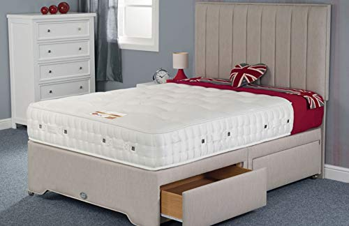 Limitless Home Swanick 4000 Summer and Winter Pocket Sprung Mattress 12 inch Double