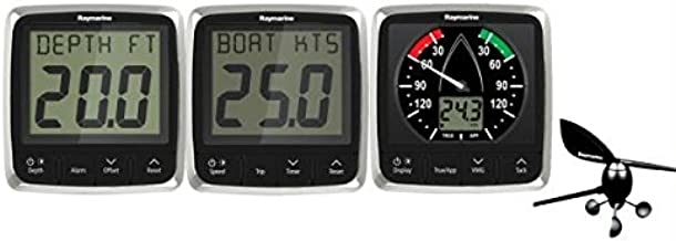 Raymarine i50/i60 Wind/Speed/Depth System Pack