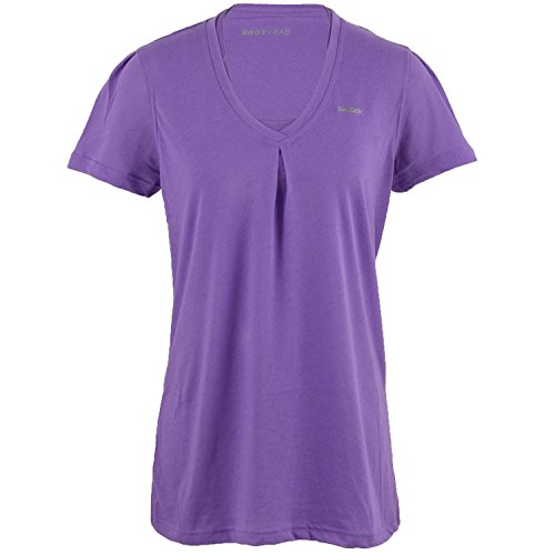 Reebok Easytone Double Damen Training Fitness Shirt Tee lila, Violett