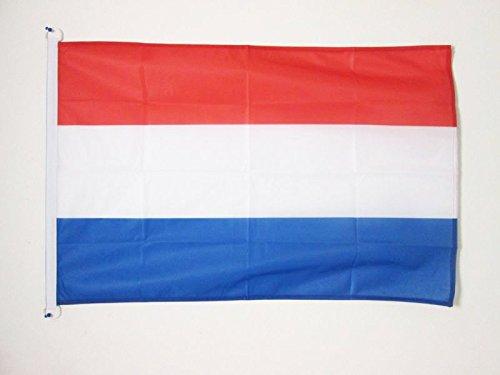 AZ FLAG Flagge Luxemburg 90x60cm - LUXEMBURGISCHE Fahne 60 x 90 cm Aussenverwendung - flaggen Top Qualität
