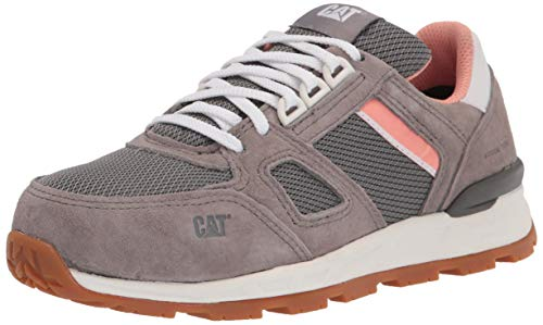 Caterpillar Women's Woodward ST Construction Shoe, Cloudburst, 5