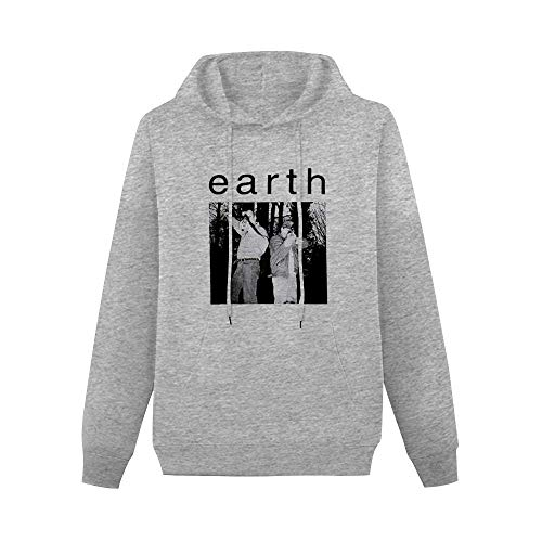 Men's Pullover Earth Sunn O Boris Wolves in The Throne Room Melvins Ulver Single-Side Print Sweater Gray L