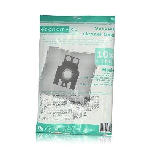 Variant 1000838 10 Staubsaugerbeutel Economy XL für Miele F, J, M, G, N
