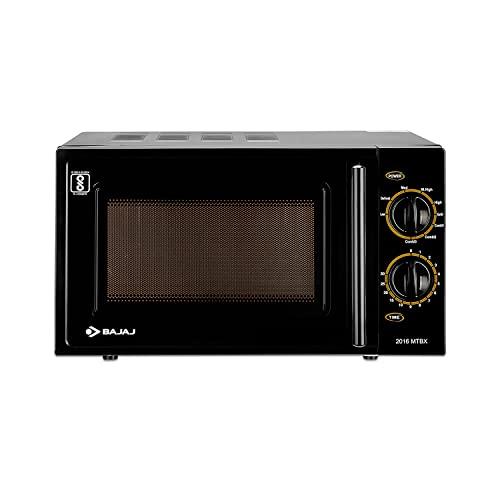 Bajaj MTBX 2016 20L Grill Microwave Oven, Black
