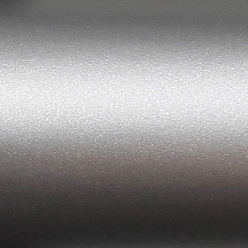 TipTopCarbon 6,45€/m² Möbelfolie Silber/Silver Matt Klebefolie 5m x 62cm selbstklebende Plotterfolie matte
