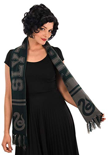 Harry Potter Slytherin Collegiate Style Reversible Scarf