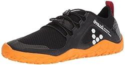 powerful Vivobarefoot Women Primus SWIMRUN FG Spezialist Firm Ground Trail Running Shoes, Black / Orange,…