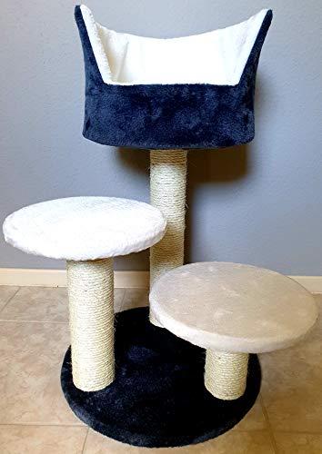 Lemio - Katzenbaum Rising Katzenspielbaum Kletterbaum für Katzen Möbel für Katzen