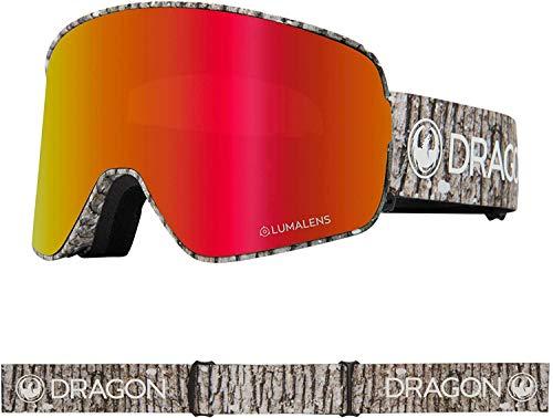 Dragon NFX2 Blizzard Lumalens Red Ion + Lumalens Bernstein 40458-016 Snow Goggles