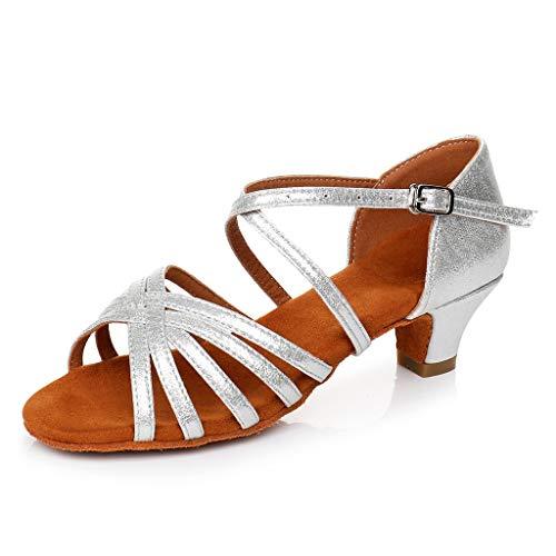 YWLINK NiñO Bebé NiñOs NiñAs Zapatos De Baile De Tango Latino para NiñOs Zapatos De Baile Zapatos Practicantes Zapatos Princesa Zapatos Individuales Sandalias CóModo Elegante Y Encantador