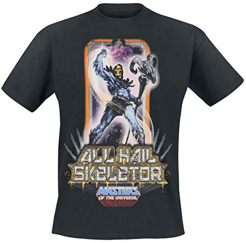 Masters of the Universe Camiseta de Hombre Skeletor Cotton Black - M