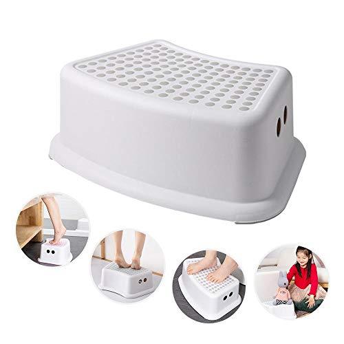 Hamkaw Tritthocker für Kinder, ein Tritthocker mit weicher rutschfester Oberfläche und rutschfester Unterseite, ideal für Töpfchentraining, Badezimmer, Schlafzimmer, Spielzimmer, Küche und Wohnzimmer