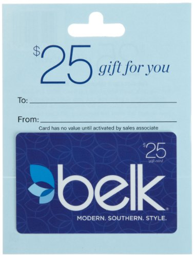 Belk Gift Card $25