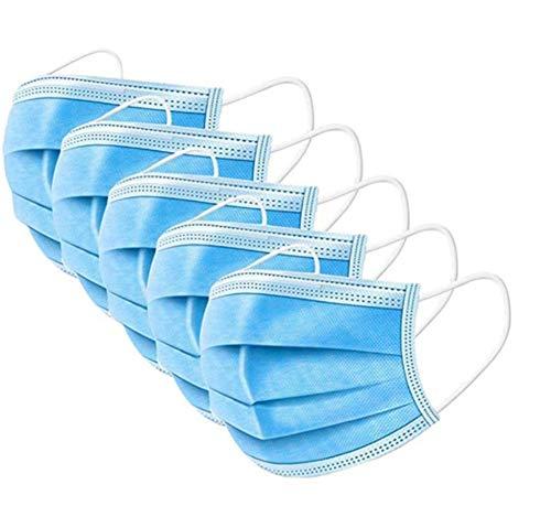 Visage jetable non tissé de haute qualité 3 couches face 50pcs