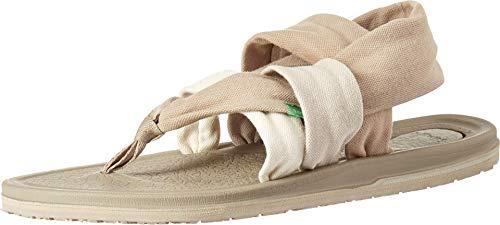 Sanuk Damen Yoga Sling 3 Sandale, Gradient Peyote/Turtledove, 39 EU