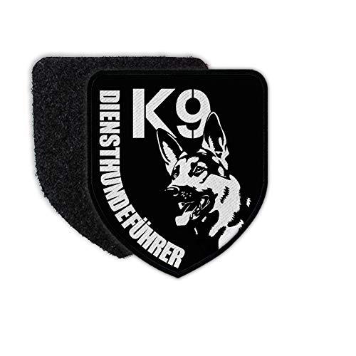 Copytec Patch K9 Diensthundeführer Trainer Hund Schäferhund Diensttraining Wappen#31976