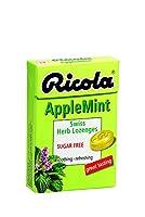 【10個セット】 リコラ アップルミント ハーブキャンディ シュガーフリー 45g × 10個