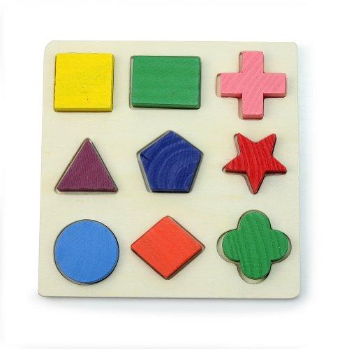 Jouets blocs de construction de frein de Construction holzbauk Frein Cubes en Bois Oiseau Cubes Alphabet Multicolore