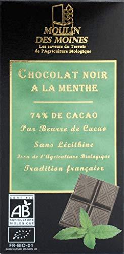 CHOCOLAT NOIR/MENTHE 100G