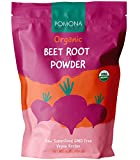 Pomona Wellness - Organic Super Beet Root Powder, 1 lbs (16oz) Raw & Non-GMO, Nitric Oxide Booster, Beet Pre-Workout Powder, Natural Nitrates for Energy & Immune System (Packaging May Vary)