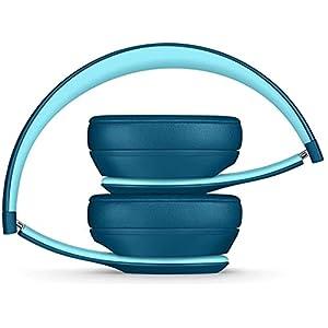 Beats Solo3 Wireless On-Ear Headphones - Beats Pop Collection - Pop Blue (Renewed)