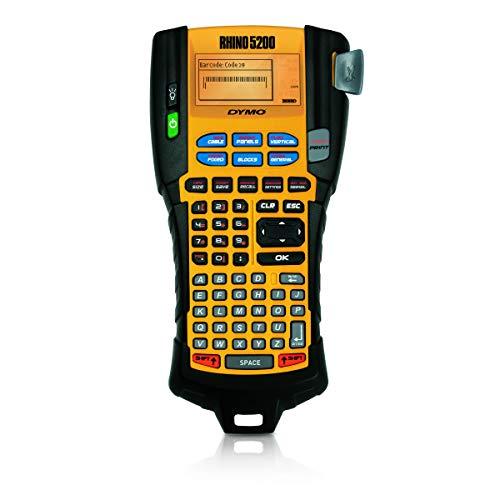 DYMO Rhino 5200 Wärmeübertragung 180 x 180DPI - Etikettendrucker (Wärmeübertragung, 180 x 180 DPI, 10 mm/sek, 100 Etikett(en), 1,9 cm, 6, 9, 12, 19)