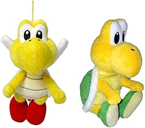 Little Buddy Mario Plush Doll Set of 2 - Pata Pata & Koopa Troopa by Little Buddy