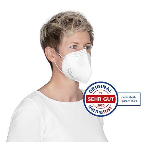 10x FFP3 Atemschutzmaske CE-Zertifiziert Made IN Germany FFP3 Maske Staubschutzmaske Atemmaske Staubmaske 10 Stück verpackt in Aufbewahrungsbox und hygienischen PE-Beutel - 8