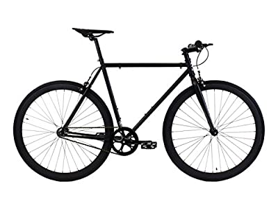 Golden Cycles Fixed Gear Bike Steel Frame with Deep V Rims-Collection, Vader, 48