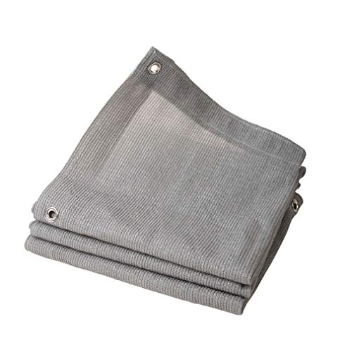 Bâche de jardin étanche La bâche de toile grise résistante de tissu d'ombre de PE couvre 90% de fabrication d'ombre résistante UV de Sunblock for les plantes de jardin Balcon de patios à effet de serr