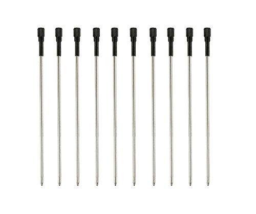MengRan 11.5 cm(4.5 in) Ballpoint Pen Refills for New Style Diamond Crystal Pen Ink Pen Refills