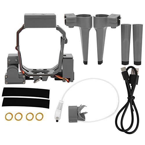 SALUTUYA Servo parabólico de dron Ligero de liberación rápida Servo parabólico de Aire fácil de Instalar con Carga USB