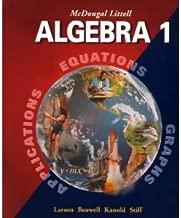 McDougal Littell Algebra 1 byLarson