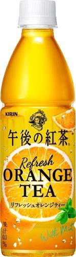キリン 午後の紅茶 リフレッシュオレンジティー 430ml ペットボトル 48本 (24本入×2 まとめ買い)