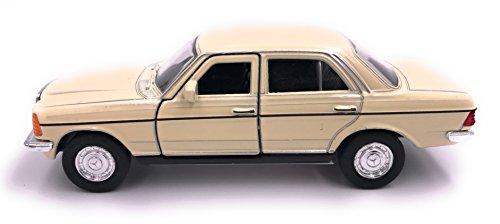 H-Customs Mercedes Benz E-Klasse E-Klasse W123 Modellauto Auto Lizenzprodukt 1:34-1:39 Beige