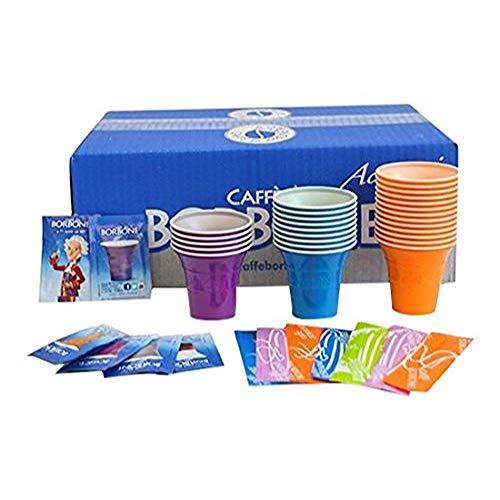 Caffè Borbone Kit Zubehör für Getränke, Mehrfarbig, 150Einheiten