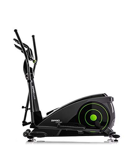 Zipro Bicicleta elíptica magnética iConsole Dunk hasta 150 kg, una Masa de inercia de 12 kg, Unisex Adulto, Negro, estándar