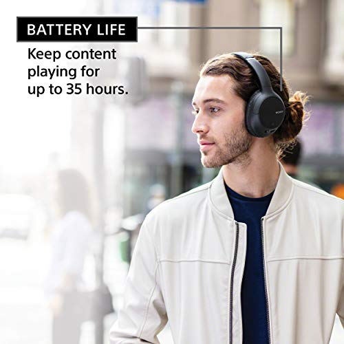 Sony Noise Cancelling Headphones WHCH710N: Wireless Bluetooth Over The Ear Headset with Mic for Phone-Call, Blue (Amazon Exclusive) (WHCH710N/L) 6