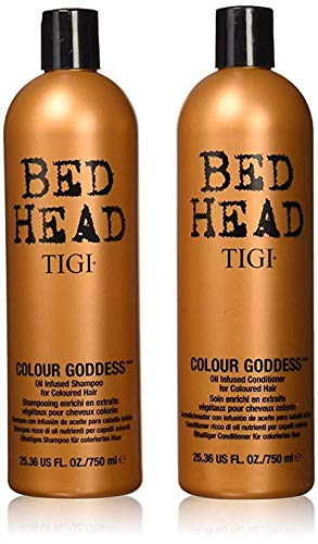 Price comparison product image Bed Head Shampoo and Conditioner,  Color Goddess,  25.36 Fluid Ounce