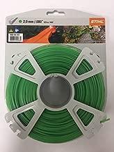 STIHL Trimmer Cutting Line Premium 2.0 mm / .080 in x 123 m / 400 ft
