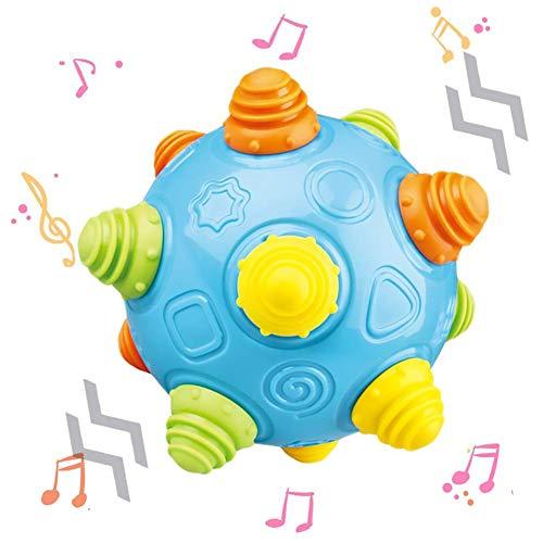 Easy-topbuy Baby Musik Tanzball Baby Sensorische Spielzeug Für Baby Mehr Als 18 Monate, Musik Schütteln Tanzbälle Mit Zwei Modi Und DREI Musik