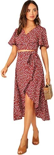 2 piece skirt outfit _image1