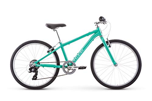 Product Image of the Raleigh Bikes Alysa 24 Kids Flat Bar Road Bike for Girls Youth 8-12 Years Old,...