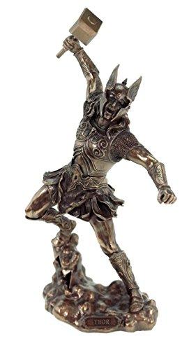 Veronese by Joh. Vogler GmbH Nordischer Donnergott Thor Gott Figur bronziert